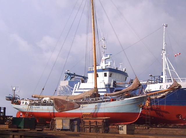 Neues Unterwasserschiff